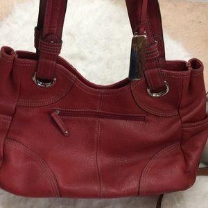 Tignanello faux leather handbag